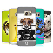 HEAD CASE DESIGNS ANIMALI DIVERTENTI COVER RETRO PER SAMSUNG GALAXY S7 EDGE