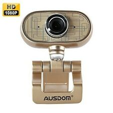 AUSDOM® AW920 Full HD 1080P USB Video Webcam With Microphone