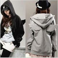 Hot sale  Fashion Korean Wings Casual Hoodie Jacket Coat tops Outerwear CFBS