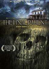 THE FINAL PATIENT rare HORROR dvd DOCTOR FOUNTAIN OF YOUTH Bill Cobbs