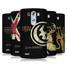 OFFICIAL HBO GAME OF THRONES HOUSE MOTTOS HARD BACK CASE FOR LG PHONES 1