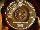 """JIMMY DEAN-""""PROMO""""-WHEN SOMEBODY MENTIONS YOUR NAME/SWEET MISERY-45 RPM 7"""""""