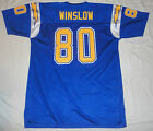 Kellen Winslow Mitchell & Ness Authentic 1984 blue jersey Size 56 / 2XL to 3XL