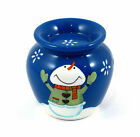 Christmas Snowman Oil Burner / Tart Warmer with Pack of Soy Wax Tarts