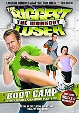 The Biggest Loser - The Workout: Boot Camp (DVD, 2008, Canadian)