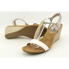 Style & Co Mulan Women US 7 Nude Wedge Sandal Pre Owned UK 4.5 3089