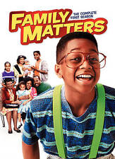 Family Matters: The Complete First Season (DVD, 2010, 3-Disc Set)