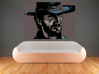 CLINT EASTWOOD THE GOOD THE BAD THE UGLY HUGE LARGE WALL ART POSTER PICTURE