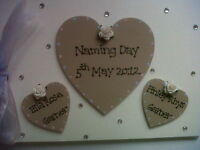 Personalised Naming Day Photo Album/Guest Book Any Colour