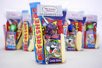 Pre Filled Party Bags Retro Sweets Boys Girls Childrens Birthday Loot Cellophane