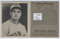 1939 Play Ball #77 Lewis Sidney Riggs - Reds ex