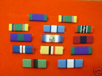 MEDAL RIBBON BARS (sew Type) Singles or Multiple Orders