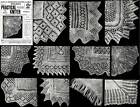 Victorian Shawl Pattern Book Knit Knitted Shawls c1910
