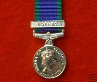Quality Borneo General Service Miniature Medal GSM CSM