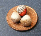 1:12 Scale Three Loose Scallops Dolls House Miniatures Fish Food Accessory
