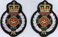 Lancashire Embroidery Royal Green Jackets blazer badge