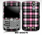 Blackberry Curve Skin 8330 8350i - PINK BERRY PLAID