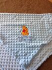 Personalized Winnie the Pooh Infant Baby Fleece Blanket