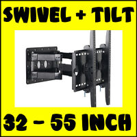 Two Arm Swivel TV Wall Bracket For 32 37 40 42 50 Inch