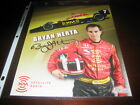 BRYAN HERTA INDY LIGHTS CHAMPION SIGNED AUTOGRAPH 8X10 PHOTO