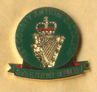 1st county antrim ulster defence regiment udr enamel badge British Army Military