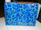 """BEAUTI CONTROL LARGE SHOPPING TOTE BLUE 19.5""""X15"""""""