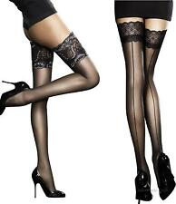 Fiore Sensuous Sheer Lace Top Hold-ups-stockings