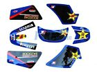ROCKSTAR GRAPHICS DECAL STICKERS YAMAHA PW50 PW 50 P DE43