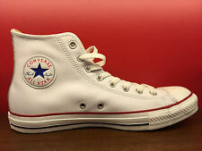 New Converse Chuck Taylor All Star Classic White Leather HI 132169C US Men 3-11