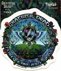 GRATEFUL DEAD forty years (1965-2005) STICKER -DuBois **FREE SHIPPING** -y ad996