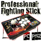 Acrylic Fighting Stick Arcade Joystick with Sanwa stick and buttons for PC PS2