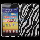 New Black Zebra style Hard Cover Case Skin for Samsung Galaxy Note i9220