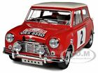 MORRIS MINI COOPER 1275S #2 1966 RALLY MONTE CARLO 1/18 MODEL CAR KYOSHO 08102C
