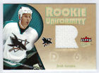 05-06 Ultra Rookie Uniformity Jerseys Josh Gorges Game Used Jersey RC #RUJG