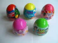 CHARACTER Sweets & Surprises EGG(Candy/Toy){DP/TS/MV/PPG/HK}{fixed £1 UK p&p}