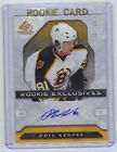 06-07 SP Game Used Phil Kessel Rookie Exclusives Auto Card RC REPK /100 Mint