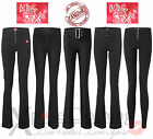 MISS SEXY WOMENS BLACK STRETCH HIPSTER LADIES / GIRLS SCHOOL TROUSERS SIZE 6-14