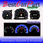 BLACK 05-09 Scion tC AT INDIGLO GLOW BLUE/WHITE EL REVERSE GAUGES