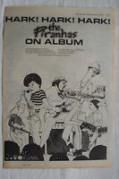 1980 - THE PIRANHAS - Hark Hark Hark + UK Tour - Press Advert - Poster Size