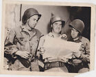 WWII MILITARY ARMY MEN SOLDIERS VINTAGE PRESS PHOTO