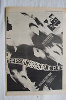 1980 - PSYCHEDELIC FURS - Beautiful Chaos UK Tour Dates   - Press Advert Poster