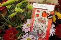 iPHONE 4 4G 4S - AUTHENTIC SANRIO HELLO KITTY HARD BLING PREMIUM CASE COVER RED