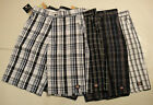 "DICKIES WR988 13"" LOOSE FIT cell phone plaid shorts 32 34 36 38 40 42 44 46 48"