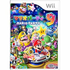 NEW Nintendo Wii Mario Party 9 JAPAN import Japanese game