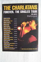 THE CHARLATANS - 2006 Forever The Singles UK Tour Dates - Magazine Advert Poster