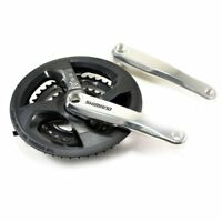 Shimano FC-M131 6/7/8-Speed Crankset With Chainguard , 48/38/28T , 170mm