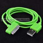 1 x New Green USB Data Cable Charger For iPhone 4s 4G 3G 3GS iPod