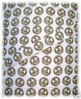 3/8 BITTY CAMO PEACE CAMOFLAUGE GROSGRAIN RIBBON WHITE 4 HAIRBOW BOW 10YD