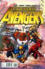 THE NEW AVENGERS #17 SPIDERMAN SIGNED BY ARTIST MIKE DEODATO JR,