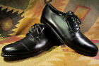 VTG ''SOLETEC'' BLACK LEATHER OXFORDS MEN SHOES SIZE 10.5D MADE IN ENGLAND